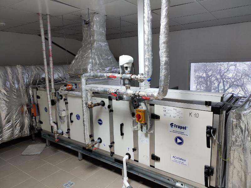 Система моніторингу та диспетчеризації технологічних параметрів роботи вентиляційних установок: цех з виробництва лікарських засобів